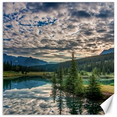 Banff National Park 2 Canvas 12  X 12   by trendistuff