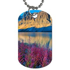 Banff National Park 1 Dog Tag (two Sides) by trendistuff