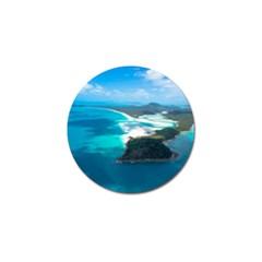 WHITEHAVEN BEACH 2 Golf Ball Marker (4 pack) by trendistuff