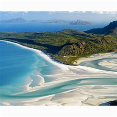 Whitehaven Beach 1 Canvas 16  X 20   by trendistuff