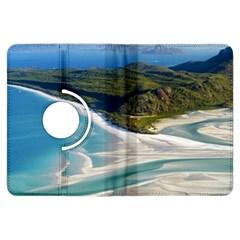 Whitehaven Beach 1 Kindle Fire Hdx Flip 360 Case by trendistuff