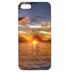 TAHITIAN SUNSET Apple iPhone 5 Hardshell Case with Stand by trendistuff