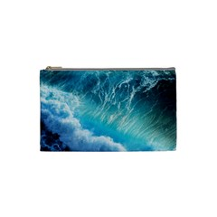 Storm Waves Cosmetic Bag (small)  by trendistuff