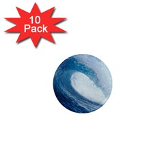 OCEAN WAVE 2 1  Mini Magnet (10 pack)  by trendistuff