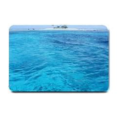 Ocean Island Small Doormat  by trendistuff