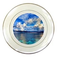 Maldives 1 Porcelain Plates by trendistuff
