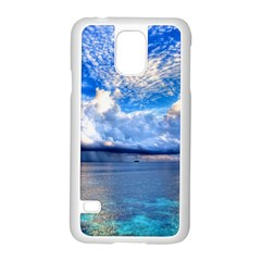 Maldives 1 Samsung Galaxy S5 Case (white) by trendistuff