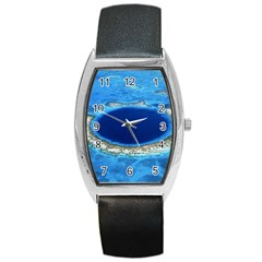 Great Blue Hole 2 Barrel Metal Watches by trendistuff
