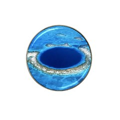Great Blue Hole 2 Hat Clip Ball Marker by trendistuff