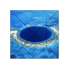 GREAT BLUE HOLE 2 Acrylic Tangram Puzzle (4  x 4 ) by trendistuff