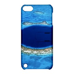 Great Blue Hole 2 Apple Ipod Touch 5 Hardshell Case With Stand by trendistuff