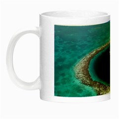 GREAT BLUE HOLE 1 Night Luminous Mugs by trendistuff