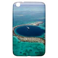 Great Blue Hole 1 Samsung Galaxy Tab 3 (8 ) T3100 Hardshell Case  by trendistuff