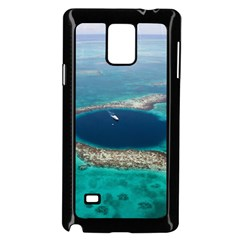 Great Blue Hole 1 Samsung Galaxy Note 4 Case (black) by trendistuff