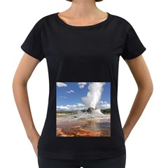 Yellowstone Castle Women s Loose Fit T Shirt (black) by trendistuff