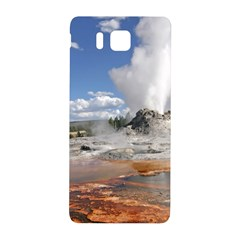 Yellowstone Castle Samsung Galaxy Alpha Hardshell Back Case by trendistuff