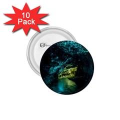 Waitomo Glowworm 1 75  Buttons (10 Pack) by trendistuff