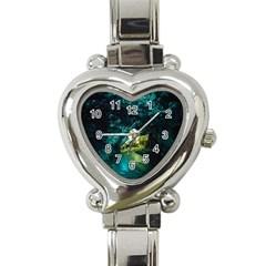 Waitomo Glowworm Heart Italian Charm Watch by trendistuff