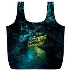 Waitomo Glowworm Full Print Recycle Bags (l)  by trendistuff