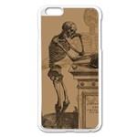 Vintage Skeletons Apple iPhone 6 Plus/6S Plus Enamel White Case