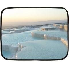 Travertine Pools Double Sided Fleece Blanket (mini)  by trendistuff