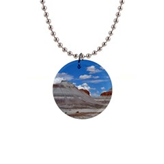 Petrified Forrest Tepees Button Necklaces by trendistuff