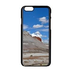 Petrified Forrest Tepees Apple Iphone 6/6s Black Enamel Case by trendistuff
