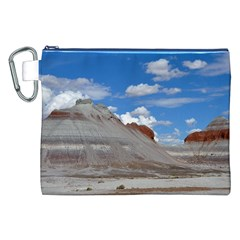 Petrified Forrest Tepees Canvas Cosmetic Bag (xxl)  by trendistuff