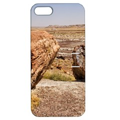 Petrified Desert Apple Iphone 5 Hardshell Case With Stand by trendistuff