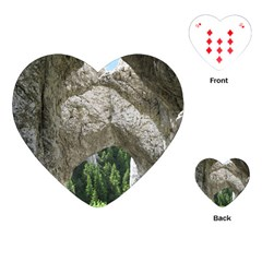 Limestone Formations Playing Cards (heart)  by trendistuff