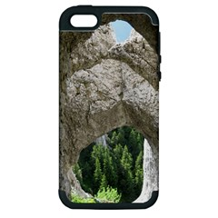 Limestone Formations Apple Iphone 5 Hardshell Case (pc+silicone) by trendistuff