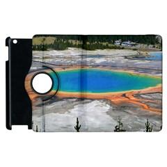 Grand Prismatic Apple Ipad 2 Flip 360 Case by trendistuff