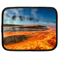 Fire River Netbook Case (xxl)  by trendistuff