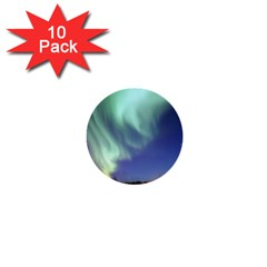 Aurora Borealis 1  Mini Buttons (10 Pack)  by trendistuff