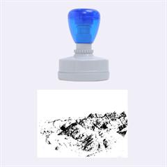 Zhangye Danxia Rubber Oval Stamps by trendistuff