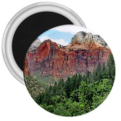 Upper Emerald Trail 3  Magnets by trendistuff