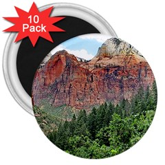 UPPER EMERALD TRAIL 3  Magnets (10 pack)  by trendistuff