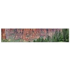 Upper Emerald Trail Flano Scarf (small)  by trendistuff