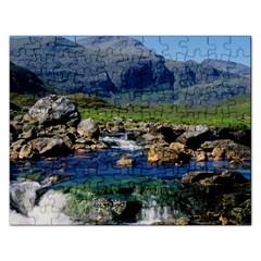 The Clisham Rectangular Jigsaw Puzzl by trendistuff