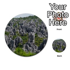 Stone Forest 1 Multi Purpose Cards (round)  by trendistuff