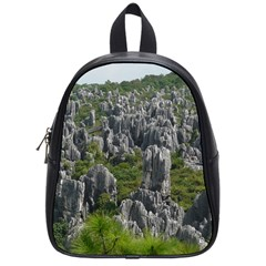 Stone Forest 1 School Bags (small)  by trendistuff