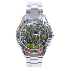 STONE FOREST 1 Stainless Steel Men s Watch