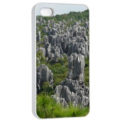 Stone Forest 1 Apple Iphone 4/4s Seamless Case (white) by trendistuff