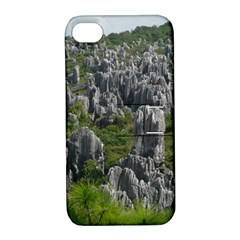 Stone Forest 1 Apple Iphone 4/4s Hardshell Case With Stand by trendistuff