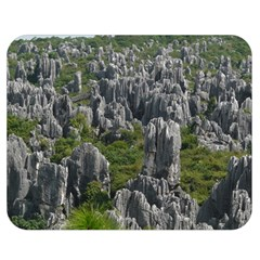Stone Forest 1 Double Sided Flano Blanket (medium)  by trendistuff
