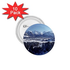 Snowy Mountains 1 75  Buttons (10 Pack) by trendistuff