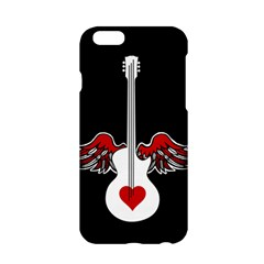 Flying Heart Guitar Apple Iphone 6/6s Hardshell Case by waywardmuse
