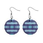 Modern Pattern Factory 01 Mini Button Earrings