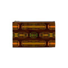 Modern Pattern Factory 01b Cosmetic Bag (small)  by MoreColorsinLife