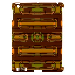 Modern Pattern Factory 01b Apple Ipad 3/4 Hardshell Case (compatible With Smart Cover) by MoreColorsinLife